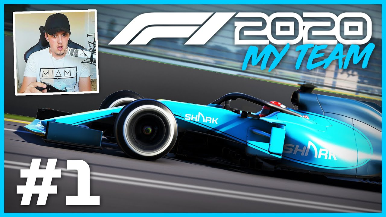 F1 2020 MY TEAM CAREER MODE Part 1: MAXIMUM Difficulty 110% AI