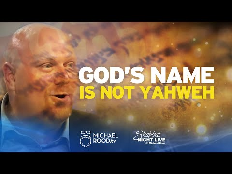 God's Name Is Not Yahweh – Proof From Jewish Rabbis