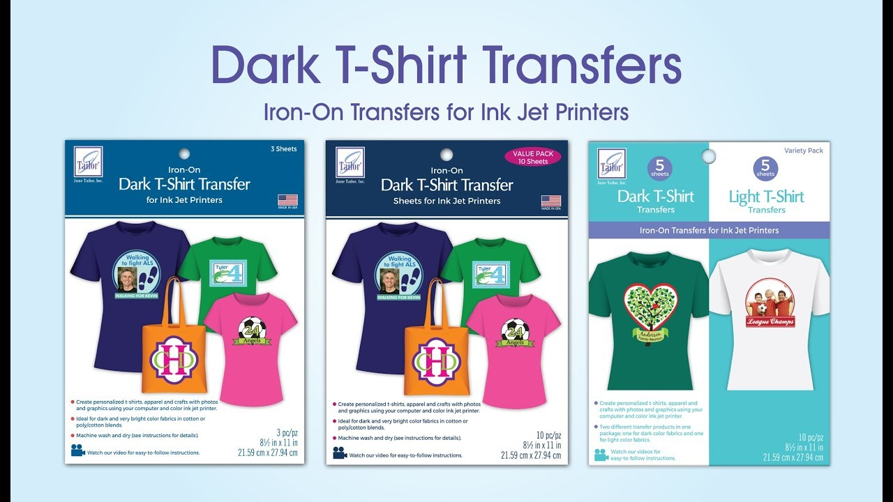 picture relating to Printable Transfers identify Dim T-Blouse Transfers for Ink Jet Printers