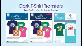 Dark T-Shirt Transfers for Ink Jet Printers