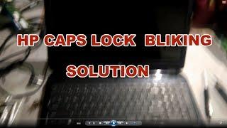 Gambar cover HP Laptop caps blinking repair how to FIX #Kottakkalit#