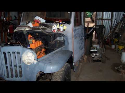 1953 Willys Truck restoration pics