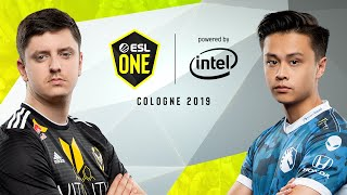 CS:GO - Team Liquid vs. Vitality [Dust2] Map 2 - Grand-Final - ESL One Cologne 2019