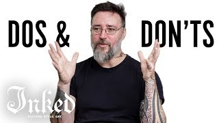 Celebrity Tattoo Artist Dos and Don