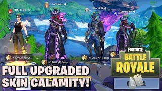Final Stage Skin Calamity! - Fortnite: Battle Royale (w/ GemmaD & Watchout Gaming)