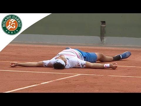 Marinko Matosevic's Crazy Celebration - Roland-Garros