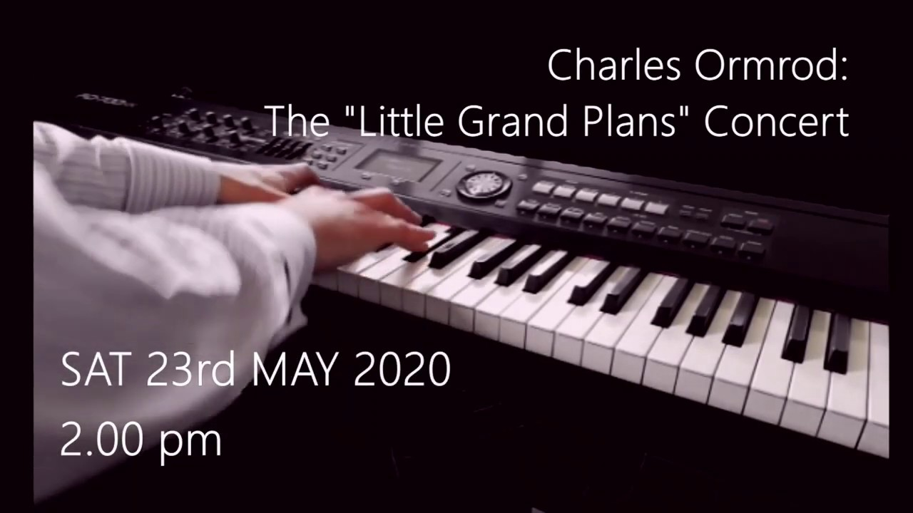 Concert: Little Grand Plans, 23rd May at 2 pm