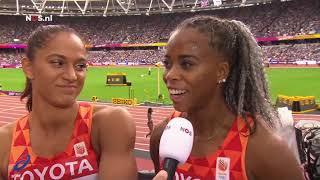 Estafettevrouwen naar finale 4X100 meter met Dafne Schippers