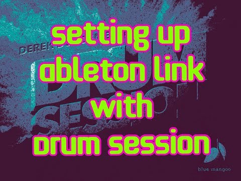 DRUM SESSION Tutorial - How To Set Up And Use Ableton LINK