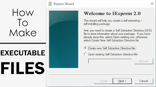 How to Make Executable Files(.exe) Mp3