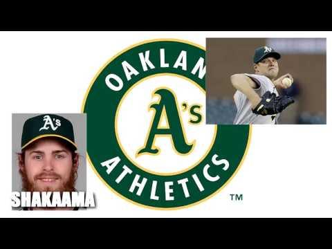 MLB Oakland Athletics Rich Hill Josh Reddick Los Angeles Dodgers