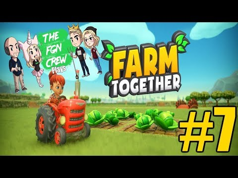 The FGN Crew Plays: Farm Together #7 - Fish Island