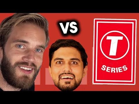 Pewdiepie vs T Series - Who Should We Support? The Wide Side