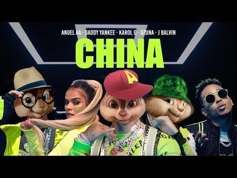 China – Anuel AA, Daddy Yankee, Karol G, Ozuna & J Balvin | Alvin and the Chipmunks