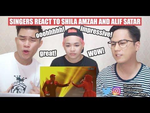 Alif Satar and Shila Amzah duet - Selamanya Cinta | REACTION