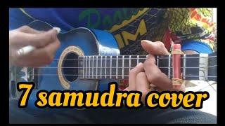 7 samudra gamma cover ukulele senar 3