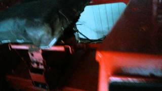 Władimirec T25- odpalanie  na mrozie