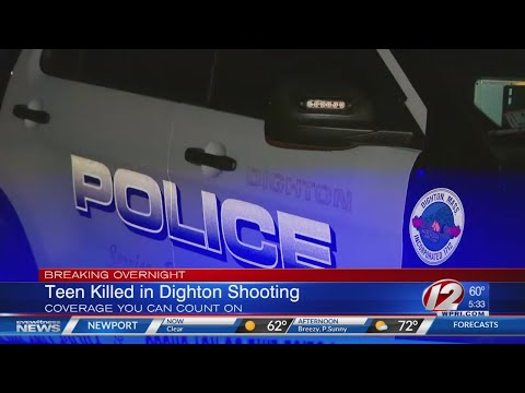 Man Arrested In Deadly Shooting Of Dighton Teen