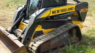 2010 New Holland C190 Skid Steer Loader.
