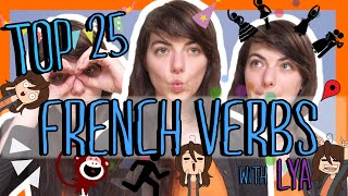 Learn the Top 25 Must-Know French Verbs!