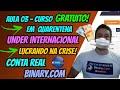 CURSO GRATUITO PARA INICIANTES DE OPÇÕES BINÁRIAS - YouTube