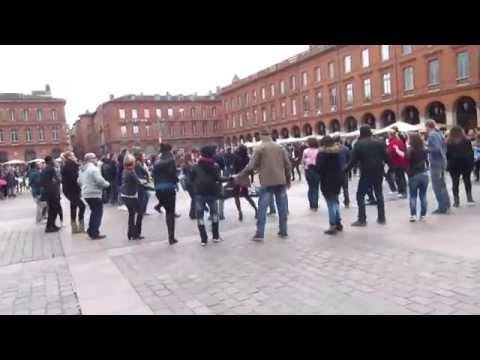 International Rueda Flash Mob Day 2015 -Toulouse, FRANCE- Tissme Salsa