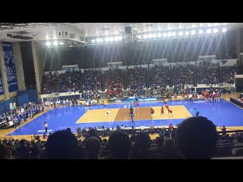 Kentucky and Nebraska volleyball match at Memorial Coliseum (December 9th, 2017)