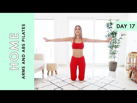Day 17: Pilates: Arms and Abs - At Home (Quarantine Challenge)