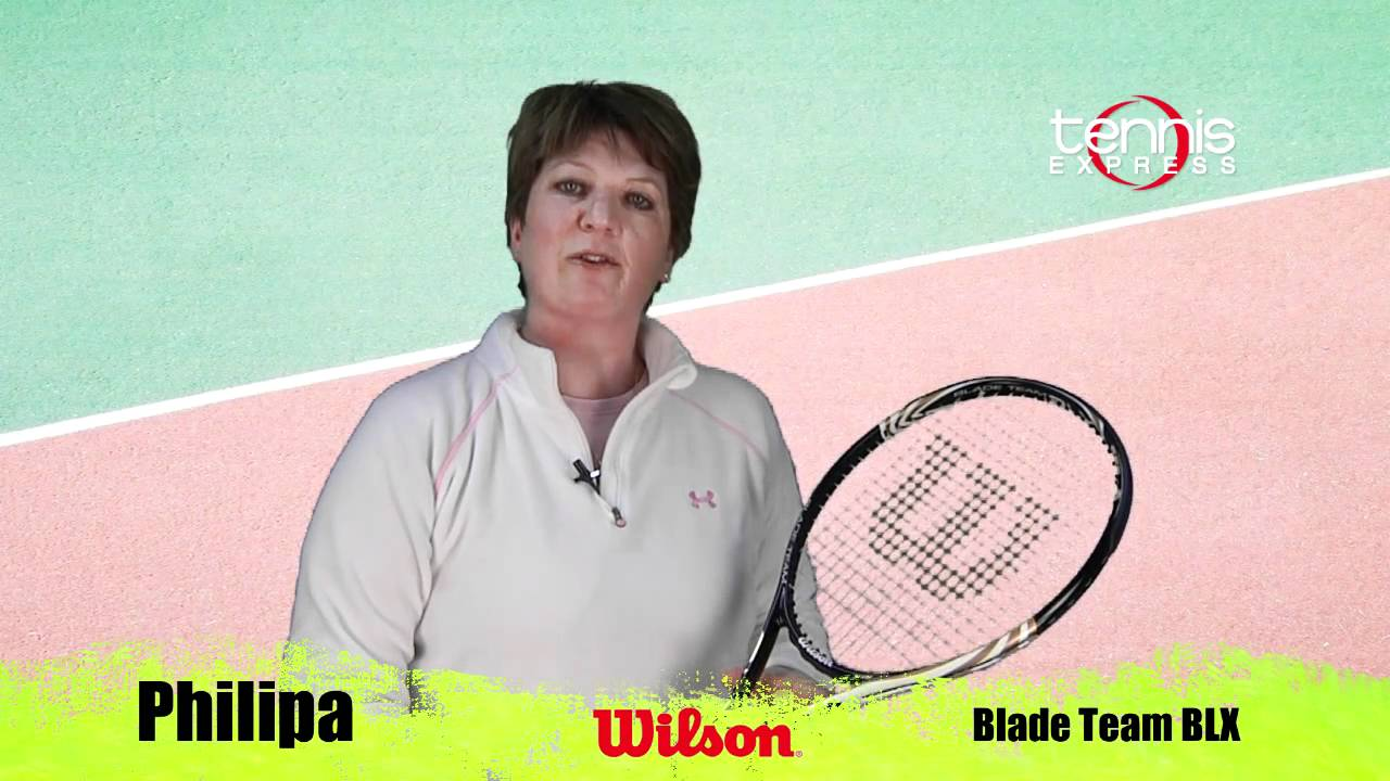 Wilson Blade Team BLX - Tennis Express Racquet Review