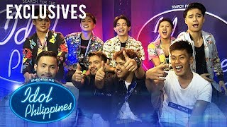 Trix, Roque, Renwick, and Carlo - Idol Reacts | Theater Round | Idol Philippines
