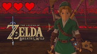 Beating Calamity Ganon with 3 Hearts & Ocarina of Time Outfit - Legend of Zelda Breath of the Wild