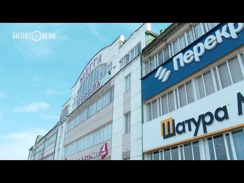 Из казанского Meggapark (Мегга-Мебель) вывозят оборудование и товар