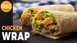 স্বাস্থ্যকর  দুটি ভিন্ন স্বাদের চিকেন শর্মা /র্যাপ | Chicken Wrap Recipe | Healthy Chicken Recipe