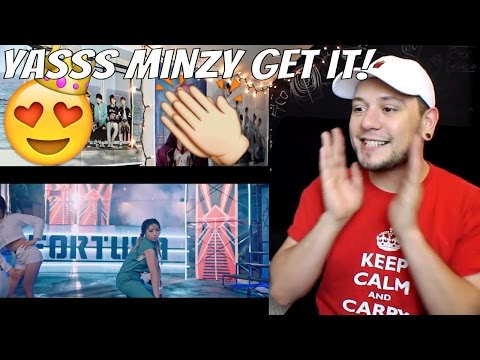 Minzy - Ninano (Feat. Flowsik) Music Video | Reaction