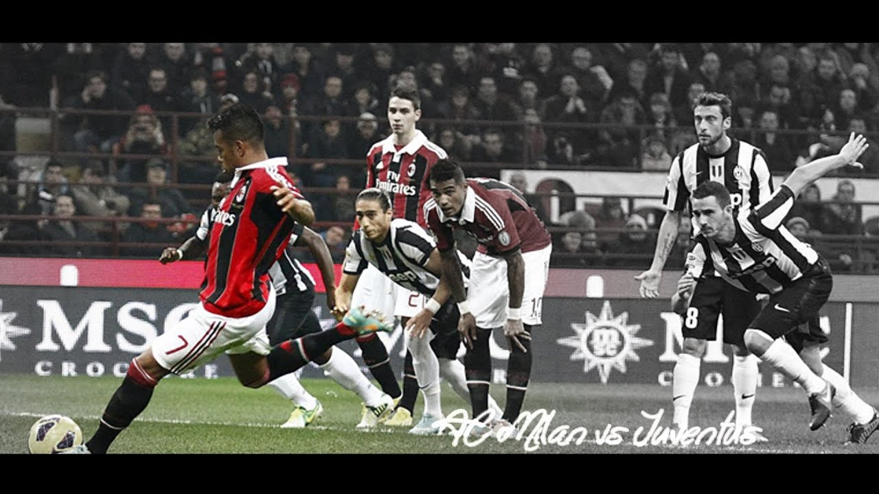 Ac Milan Vs Juventus The Infinite Story 2013 2014 Hd Youtube