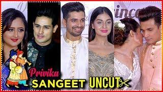 Prince Narula And Yuvika Chaudhary Full Sangeet Ceremony | #privika Wedding Ceremony