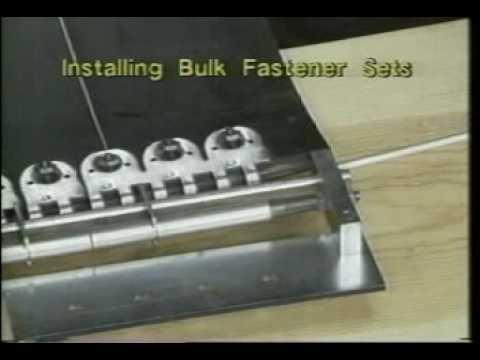 Flexco® Bolt Hinged Fastener Installation