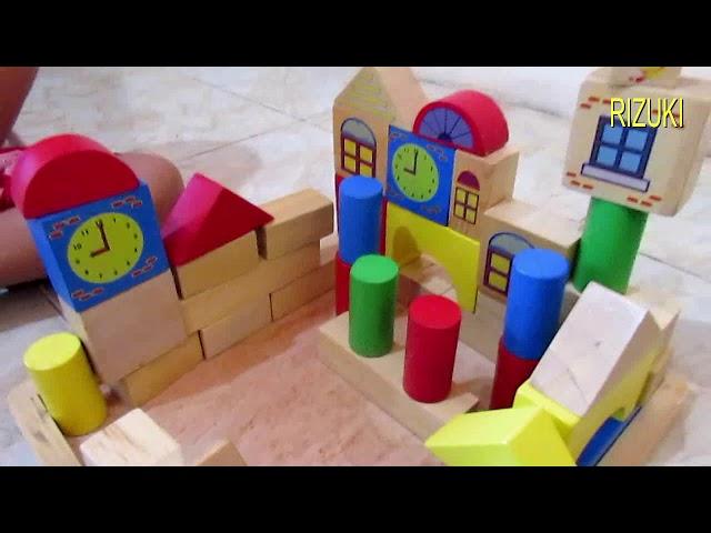 Mainan Rumah Kayu Mainan Rumah Rumahan Balok Kayu