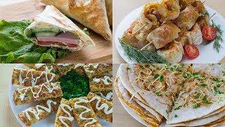 4 простых, быстрых, вкусных закусок для пикника