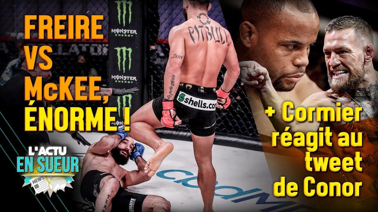 Le plus grand combat de l'histoire Bellator ? 🥊 Daniel Cormier réagit au tweet de Conor McGregor 😠