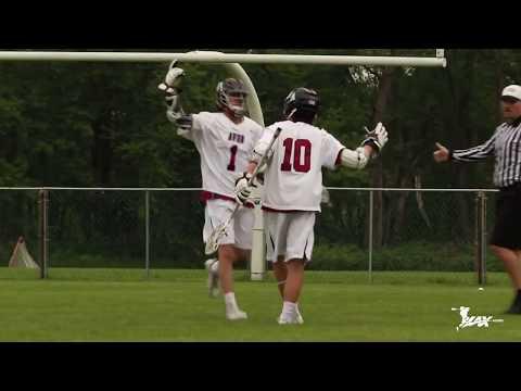 Darian Cook 2017 Spring Lacrosse Highlights (Brown'22)