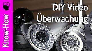 Videoüberwachung selbst gemacht - IP Kamera und Android Tablett verbinden.