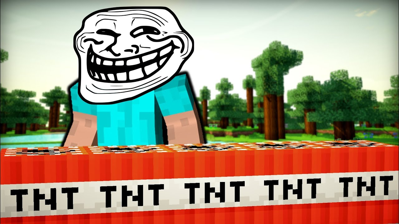 Minecraft TROLL MOD YouTube