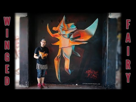 Origami Winged Fairy In Soho