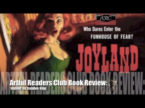 BookTube | Joyland by Stephen King | Artful Readers Club