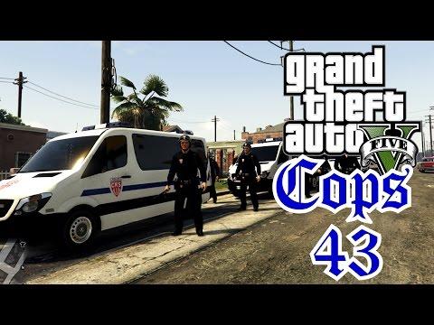 CRS et coups de matraque - COPS 43 - LSPDFR GTA 5 MODS