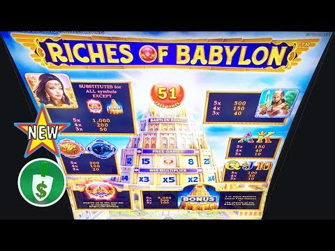 ⭐️ New - Riches of Babylon slot machine, bonus