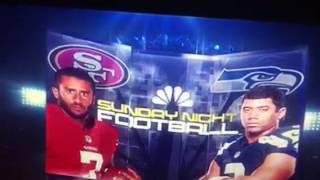 Carrie Underwood Sunday Night Football Week 2 Seahawks v 49