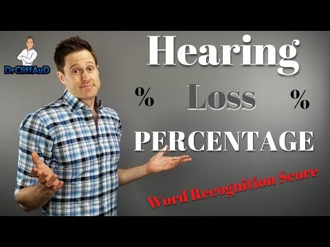 Percentage Of Hearing Loss | Why Your Word Recogniton Score (WRS) Is Critical