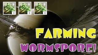 Wormspore Farming Guide: Destiny The Taken King